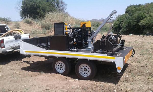 Pit Launcher for Sale Aardvark Drilling Construction 1
