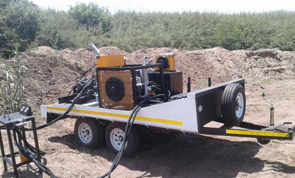 Pit Launcher for Sale Aardvark Drilling Construction 2