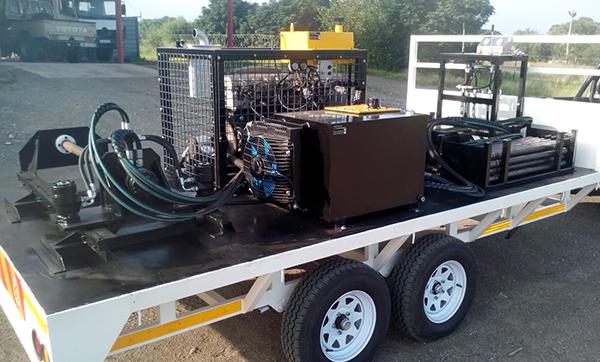 Pit Launcher for Sale Aardvark Drilling Construction 3